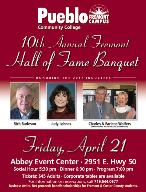 Fremont Hall of Fame Inducts 4 on April 21