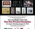 Pueblo Community College Hosts Fine Arts Reception at 2015 Colorado State Fair