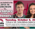 2015 PCCF Scholarship Luncheon Slated for October 6