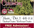 PCC Lights up the campus on December 1 – Everyone invited to attend!