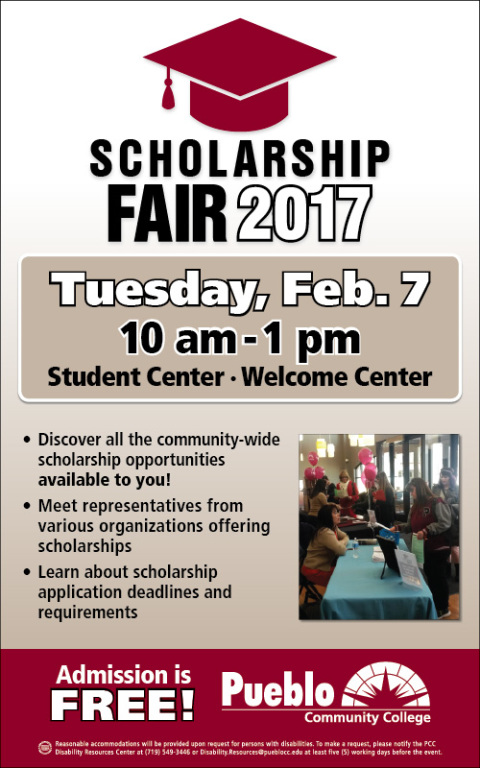 PCC Scholarship Fair Promotes Available Funds for PCC and soon-to-be PCC Students