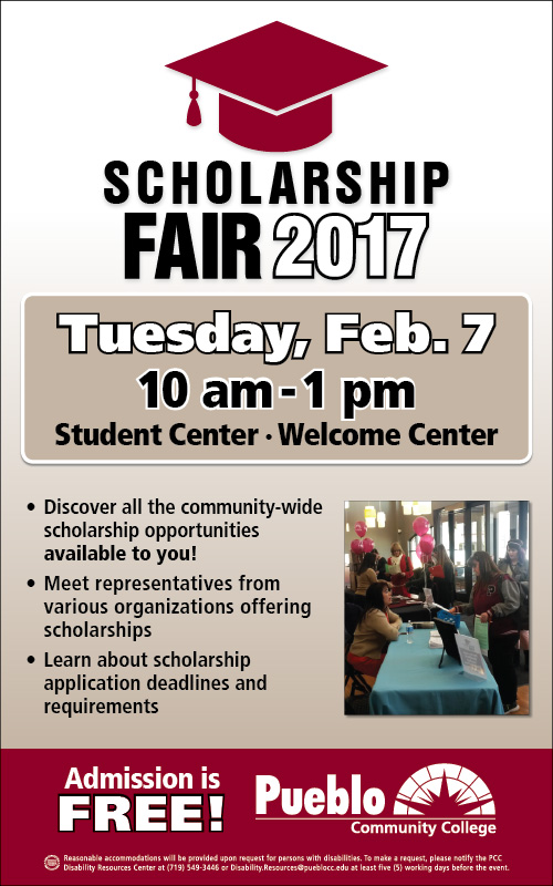 Join Us for the 2017 Scholarship Fair