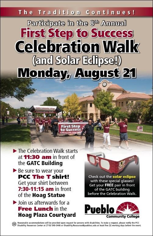 Celebration Walk Flyer