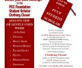 Donate your gently used clothing to support a PCC Foundation Scholar