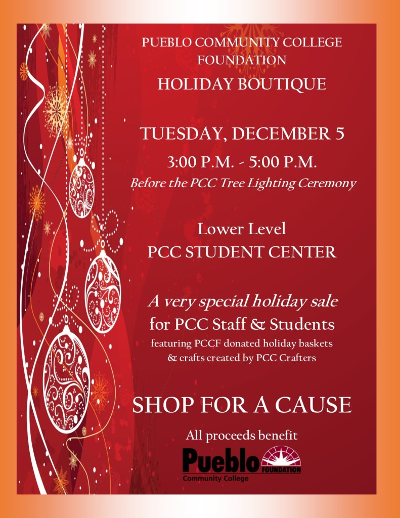 Updated 2017 PCC Holiday Boutique Flyer
